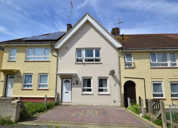 Thumbnail 3 bed terraced house to rent in Dickens Road, Gravesend