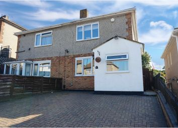 Thumbnail 2 bed semi-detached house for sale in Bankside, Chatham