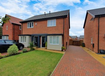 Thumbnail 2 bed semi-detached house for sale in Lewis Close, Ibstock