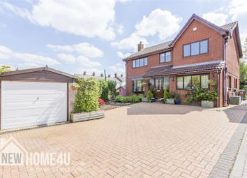 Thumbnail 4 bed detached house for sale in Church Walk, Vicarage Road, Bagillt
