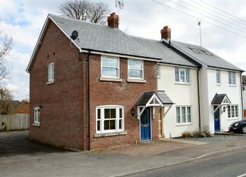 Thumbnail 2 bed end terrace house to rent in Dane Cottages, Haverhill Road, Kedington, Haverhill
