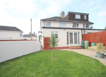 Thumbnail 3 bed semi-detached house for sale in Cresthill Road, Beacon Park, Plymouth