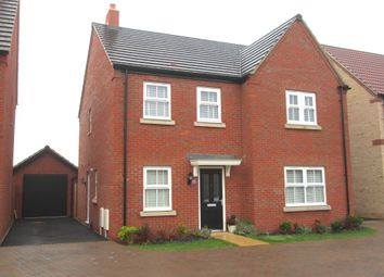 Thumbnail 4 bed detached house for sale in Jubilee Close, Sandy