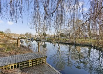 Thumbnail 4 bed detached house to rent in Chertsey Road, Shepperton