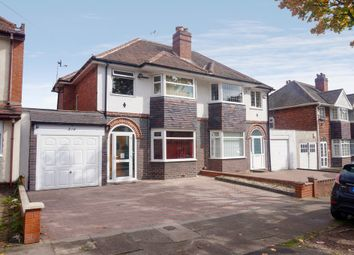 Thumbnail 3 bed semi-detached house for sale in Cherry Orchard Road, Handsworth Wood, Birmingham, West Midlands