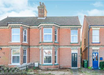 Thumbnail 3 bed semi-detached house for sale in Cawston Road, Aylsham, Norwich
