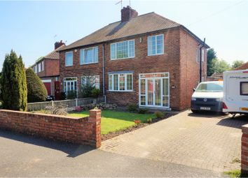 Thumbnail 3 bed semi-detached house for sale in Long Lane, Worksop