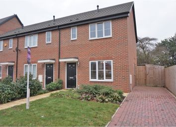 Thumbnail 2 bed town house for sale in Hallaton Road, Leicester