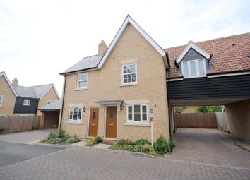 Thumbnail 2 bed semi-detached house to rent in Oak Farm Drive, Little Downham, Ely