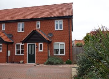 Thumbnail 2 bedroom end terrace house for sale in Neptune Close, Bradwell, Great Yarmouth