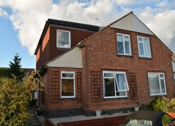 Thumbnail 4 bed semi-detached house for sale in Great Arler Road, Knighton Fields, Leicester