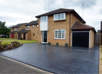 Thumbnail 4 bed detached house for sale in Rush Close, Hartwell