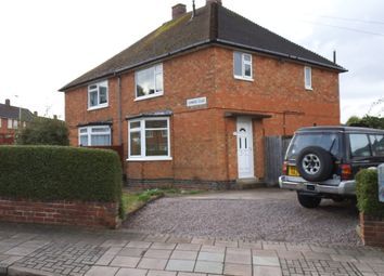 Thumbnail 3 bed semi-detached house for sale in Somers Road, Leicester