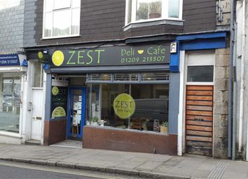Thumbnail Restaurant/cafe for sale in Zest Cafe, 37, Fore Street, Redruth