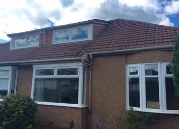 Thumbnail 3 bedroom semi-detached bungalow to rent in Cathkin Drive, Clarkston, Glasgow