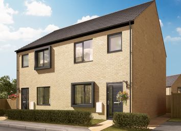 "Thumbnail 3 bedroom semi-detached house for sale in ""The Shelton"" at Quinn Meadows, Oxley Park, Milton Keynes"