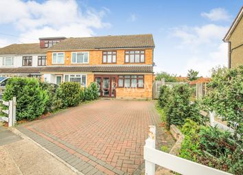 Thumbnail 3 bed semi-detached house for sale in Sheridan Close, Romford