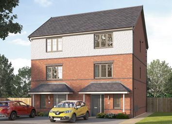 "Thumbnail 3 bed semi-detached house for sale in ""The Paignton"" at Highfield Villas, Doncaster Road, Costhorpe, Worksop"