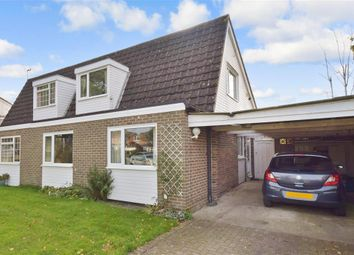 Thumbnail 3 bed semi-detached house for sale in Heron Way, Horsham, West Sussex