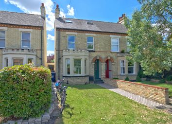 Thumbnail 4 bed semi-detached house for sale in Shelford Road, Trumpington, Cambridge