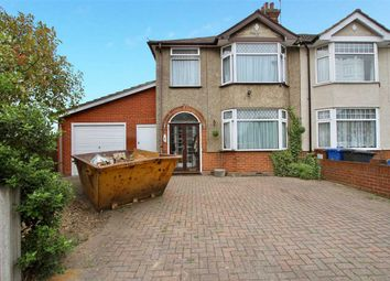 Thumbnail 3 bedroom semi-detached house for sale in St. Leonards Road, Ipswich