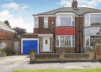 Thumbnail 3 bedroom semi-detached house for sale in Redland Drive, Kirk Ella, Hull