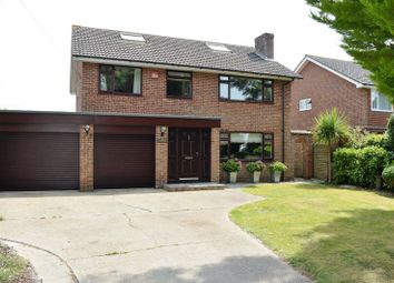 Thumbnail 4 bedroom detached house for sale in Stamford Avenue, Hayling Island
