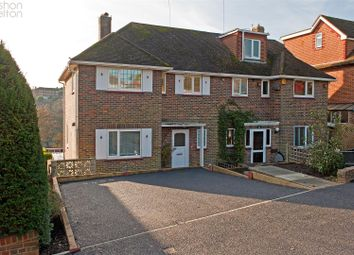 Thumbnail 3 bed semi-detached house for sale in Copse Hill, Brighton