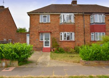 Thumbnail 3 bed semi-detached house for sale in Halewick Lane, Sompting, Lancing, West Sussex