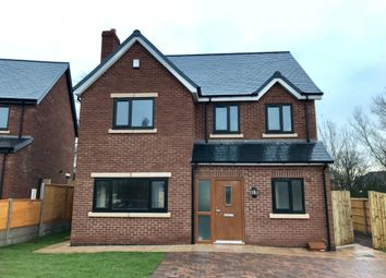 Thumbnail 4 bed detached house for sale in Highfield Way, Market Drayton