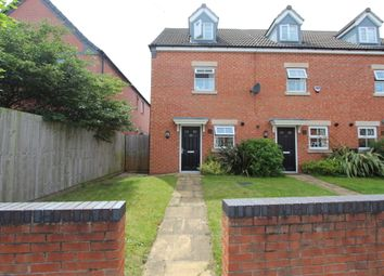 Thumbnail 3 bedroom town house for sale in Hawthorne Avenue, Long Eaton
