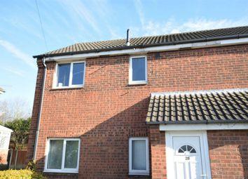 Thumbnail 1 bed maisonette for sale in Larchdale Close, Broadmeadows, South Normanton, Alfreton, Derbyshire