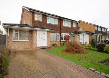 Thumbnail 3 bed semi-detached house for sale in Ash Lodge Drive, Ash, Aldershot, Hampshire