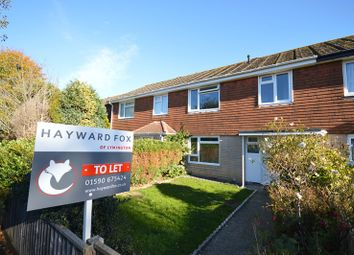Thumbnail 3 bed terraced house to rent in Solent Close, Lymington