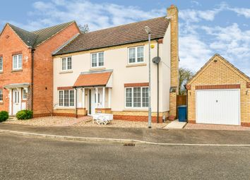 Thumbnail 4 bed end terrace house for sale in Greenwood Way, Wimblington, March