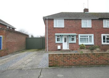 Thumbnail 3 bed semi-detached house for sale in Chaucer Crescent, Newbury