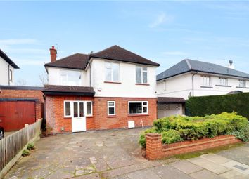 Thumbnail 3 bed detached house for sale in Parkside Drive, Watford