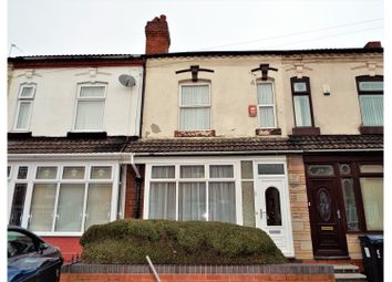 Thumbnail 3 bed terraced house for sale in Bankes Road, Birmingham