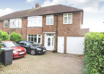 Thumbnail 4 bed semi-detached house for sale in Cole Green Lane, Welwyn Garden City