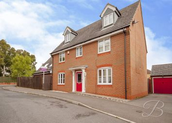 Thumbnail 5 bed detached house for sale in Spinners Close, Mansfield