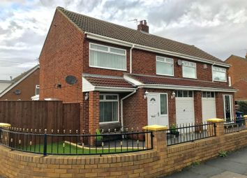 Thumbnail 3 bed semi-detached house for sale in Westbank Road, Ormesby, Middlesbrough