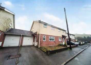 Thumbnail 3 bed semi-detached house for sale in Tylcha Fach Close, Coed Ely, Porth