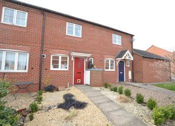 Thumbnail 2 bed town house for sale in Moir Close, Sileby, Leicestershire