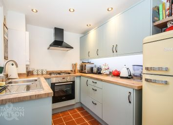 Thumbnail 2 bed terraced house for sale in The Street, Trowse, Norwich