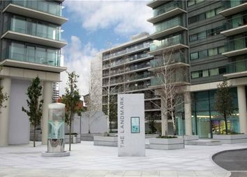 Thumbnail 1 bed flat to rent in Landmark East Tower, 22 Marsh Wall, London