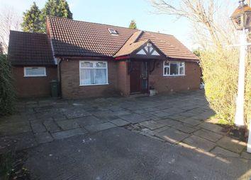 Thumbnail 3 bedroom detached bungalow for sale in Mottram Road, Stalybridge