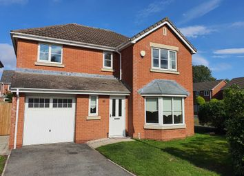 Thumbnail 4 bed detached house to rent in Mildenhall Close, Great Sankey