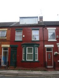 Thumbnail 4 bed terraced house to rent in Wellington Road, Wavertree, Wavertree