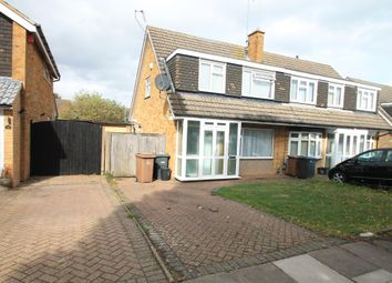 Thumbnail 3 bed property to rent in Sudbury Road, Luton
