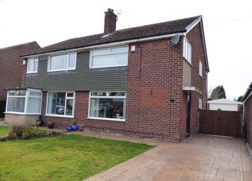 Thumbnail 3 bed semi-detached house for sale in Corfe Crescent, Hazel Grove, Stockport